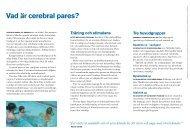 Vad är cerebral pares? - RBU