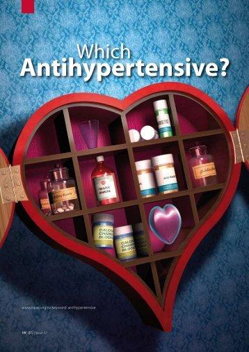 Antihypertensive? - Bpac.org.nz
