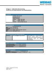 Anlage 5 Kontaktdaten Netzbetreiber NNV WEMAG Netz ab 01.07 ...
