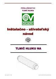 UZN-V-VPD_VPK-TLMIC HLUKU NA-0708-01-SK - KLIMAVEX as