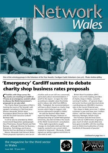 Network Wales 468, 19 June, 2013 - WCVA