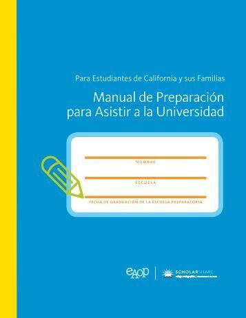 Manual de Preparación para Asistir a la Universidad (pdf) - EAOP