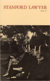 Summer 1971 – Issue 8 - Stanford Lawyer - Stanford University