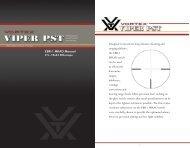 Vortex EBR-1 MRAD reticle manual - EuroOptic.com