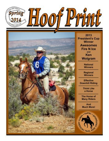 Hoof Print Summer 2013 - North American Trail Ride Conference