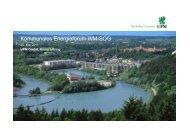 UPM GmbH - Klimaschutzkonzeptes des Landkreises Weilheim ...