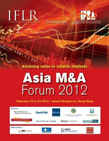 Attaining value in volatile markets - IFLR.com