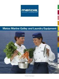 Metos Marine Galley and Laundry Equipment