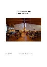 Årsrapporten finner du her.. - Drammen Kirker - Den norske kirke