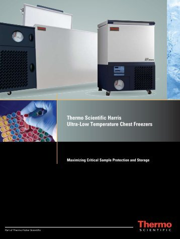 Thermo Scientific Harris Ultra-Low Temperature Chest Freezers