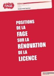 nouvelle licence - Ministère de l'enseignement supérieur et de la ...