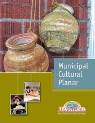 Municipal Cultural Plan [PDF] - Creative City Network of Canada