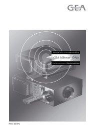 HVAC Systems - GEA Happel Belgium