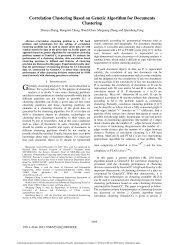 Correlation Clustering Based on Genetic Algorithm for Documents ...