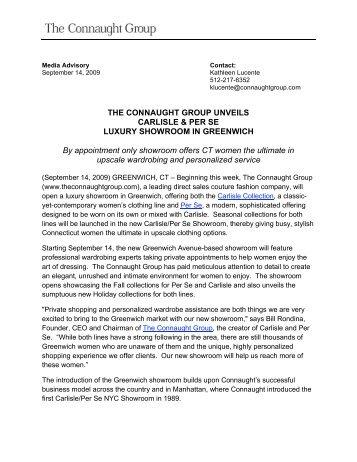 Download press Release (PDF) - Carlisle Collection