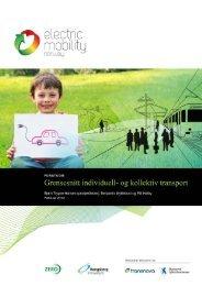 Forstudie - grensesnitt individuell- og kollektiv transport - Zero