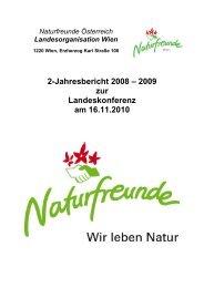 2-Jahresbericht 2008-2009 - Naturfreunde Wien