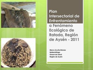 Fenómeno de Ratada 2011 - SEREMI de Salud Región del Biobío.