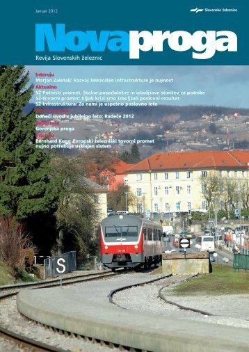Januar - Slovenske železnice