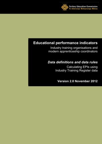 Definitions and Rules - Tertiary Education Commission