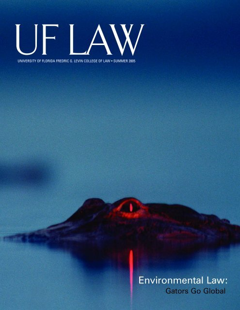 Environmental Law Levin College Of Law University Of