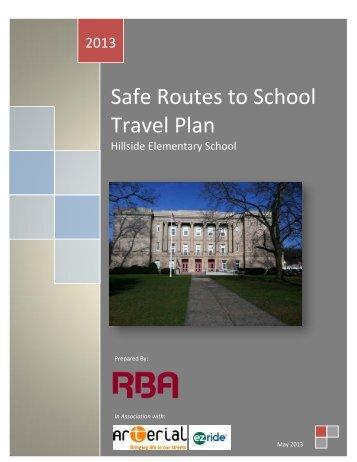 Hillside Elementary School - NJ Safe Routes to School