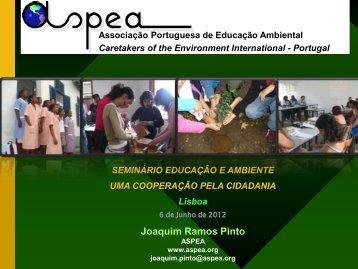 ASPEA - Joaquim Pinto - Agência Portuguesa do Ambiente