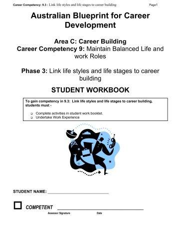 Preparing a resume blueprint australian blueprint for career area c 93 workbook blueprint australian blueprint for career malvernweather Image collections