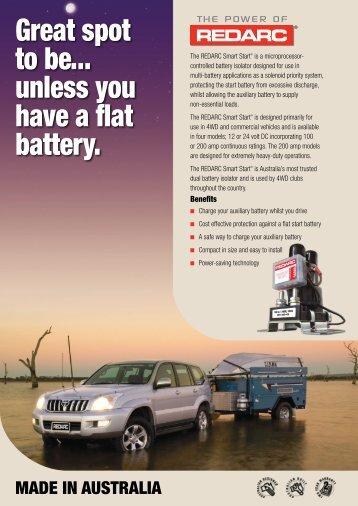 Product brochure SBI - REDARC Electronics