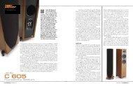JAMO Floorstanding Speakers - Magnet Technology