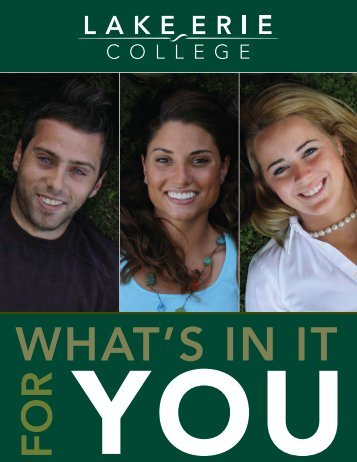your learning communities - Lake Erie College