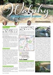 WALPHY, un projet pilote de réhabilitation de cours d'eau - Natagora