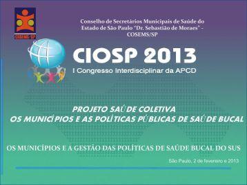 Projeto Saúde Coletiva - APCD