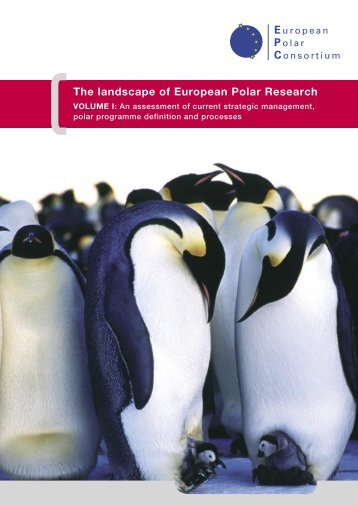 The landscape of European Polar Research - European Science ...