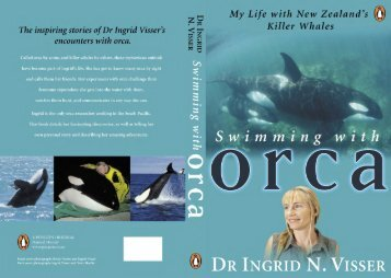 Swimming with orca - Orca Research Trust