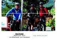 Das Projekt Alpencross 2012 von Mittenwald zum Gardasee