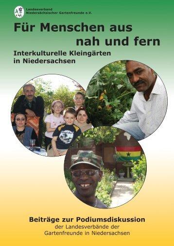 Für Menschen aus nah und fern Interkulturelle ... - Gartenfreunde.de