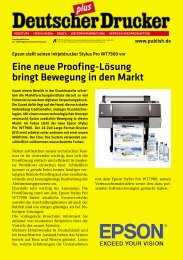 Eine neue Proofing-Lösung bringt Bewegung in ... - Rauch IT GmbH