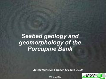 New seabed geological map of the Porcupine Bank & seabed ...