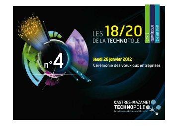 Présentation du 18-20 Technopole du 26 janvier 2012 - Castres ...