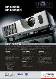 CP-X3010E-EN_UK :Layout 1