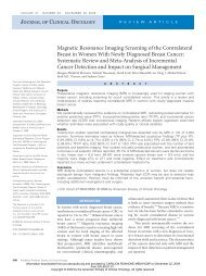 Magnetic Resonance Imaging Screening of the Contralateral ... - Rima
