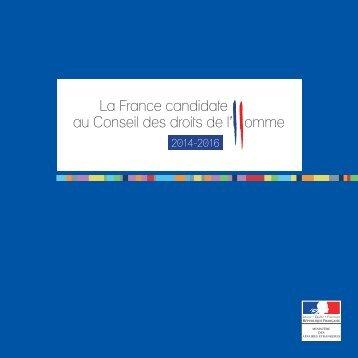 La France candidate au Conseil des droits de l'Homme