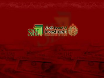 A Handbook For Doing Business In Sindh - Sindh Board Of ...