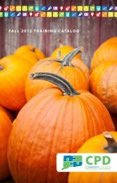 fall 2012 training catalog - Connecticut Association of Nonprofits
