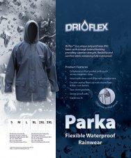 Flexible Waterproof Rainwear - Daviesway Pty Ltd