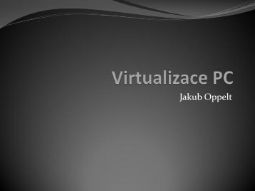 Virtualizace PC - eAMOS