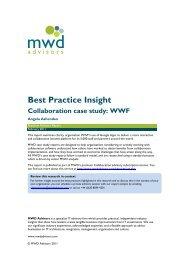 Collaboration case study: WWF - CBS Interactive UK