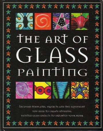 The Art of Glass Painting - Ummi Homeschools Me!!