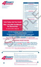 Sample Ballot - 4-County Electric Power Association